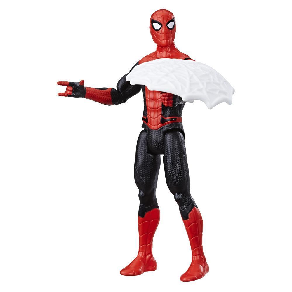 Фигурка Человек-Паук 15 см Человек-Паук с паутинным щитом SPIDER-MAN E4123