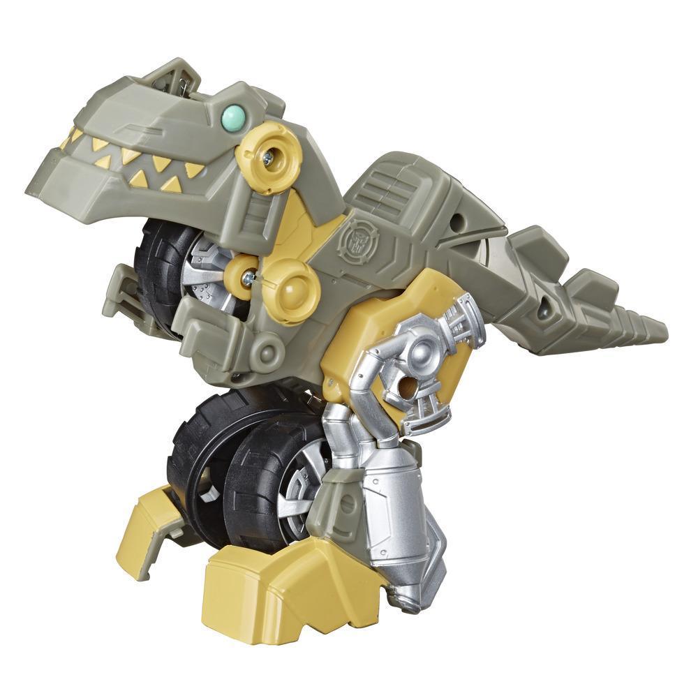 Игрушка-трансформер Трансформеры Академия ботов-спасателей Гримлок-мотоцикл TRANSFORMERS E5695