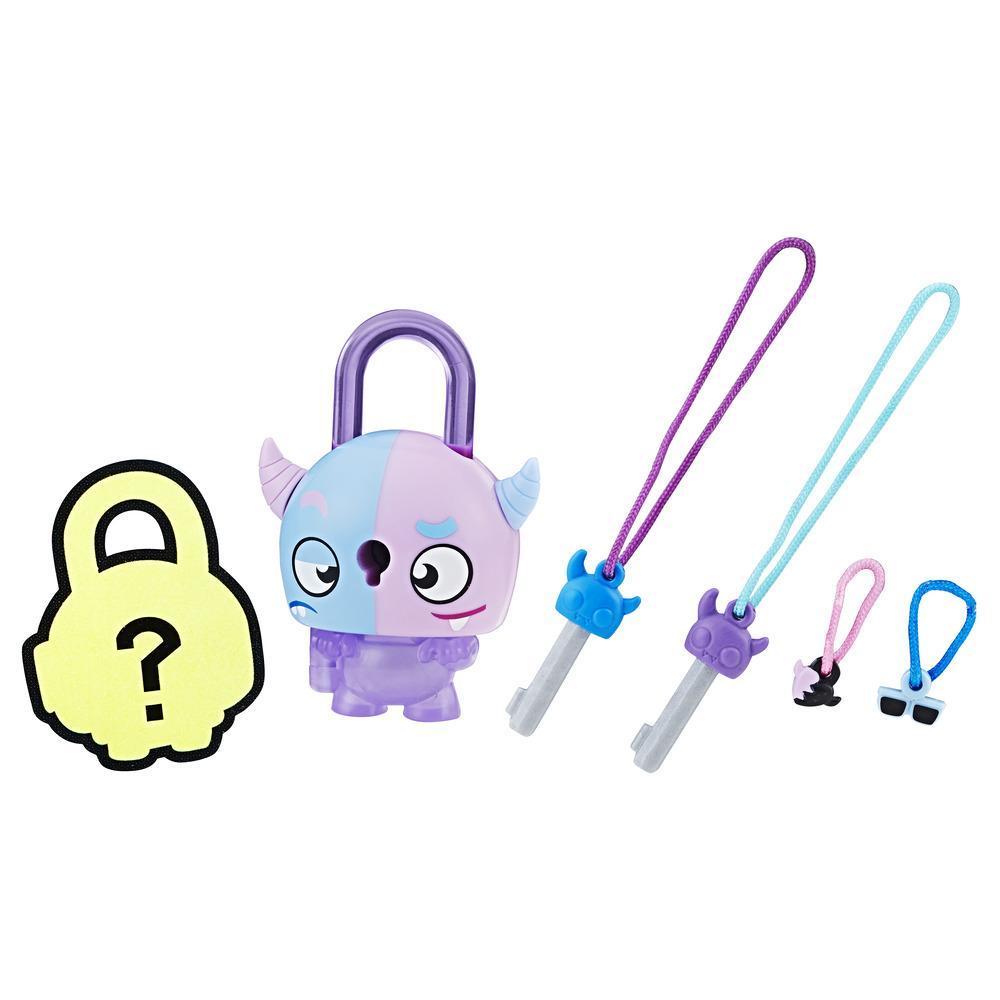 Набор замочки с секретом цветной монстрик (E3663) Lock Stars, Hasbro