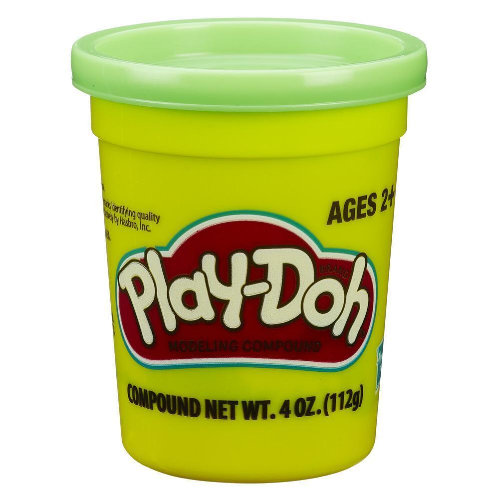 Набор Плей-До 1 банка с массой для лепки салатовый PLAY-DOH B7411