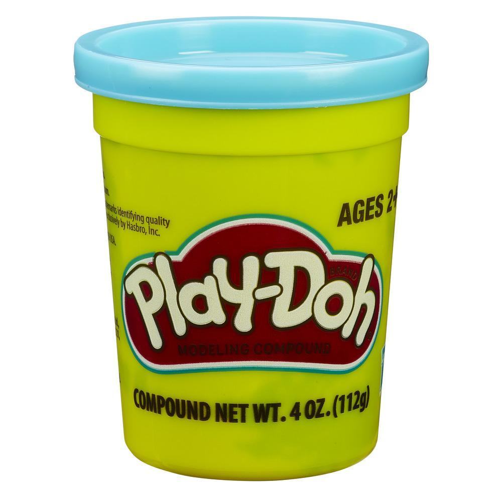 Набор Плей-До 1 банка с массой для лепки голубой PLAY-DOH B7416