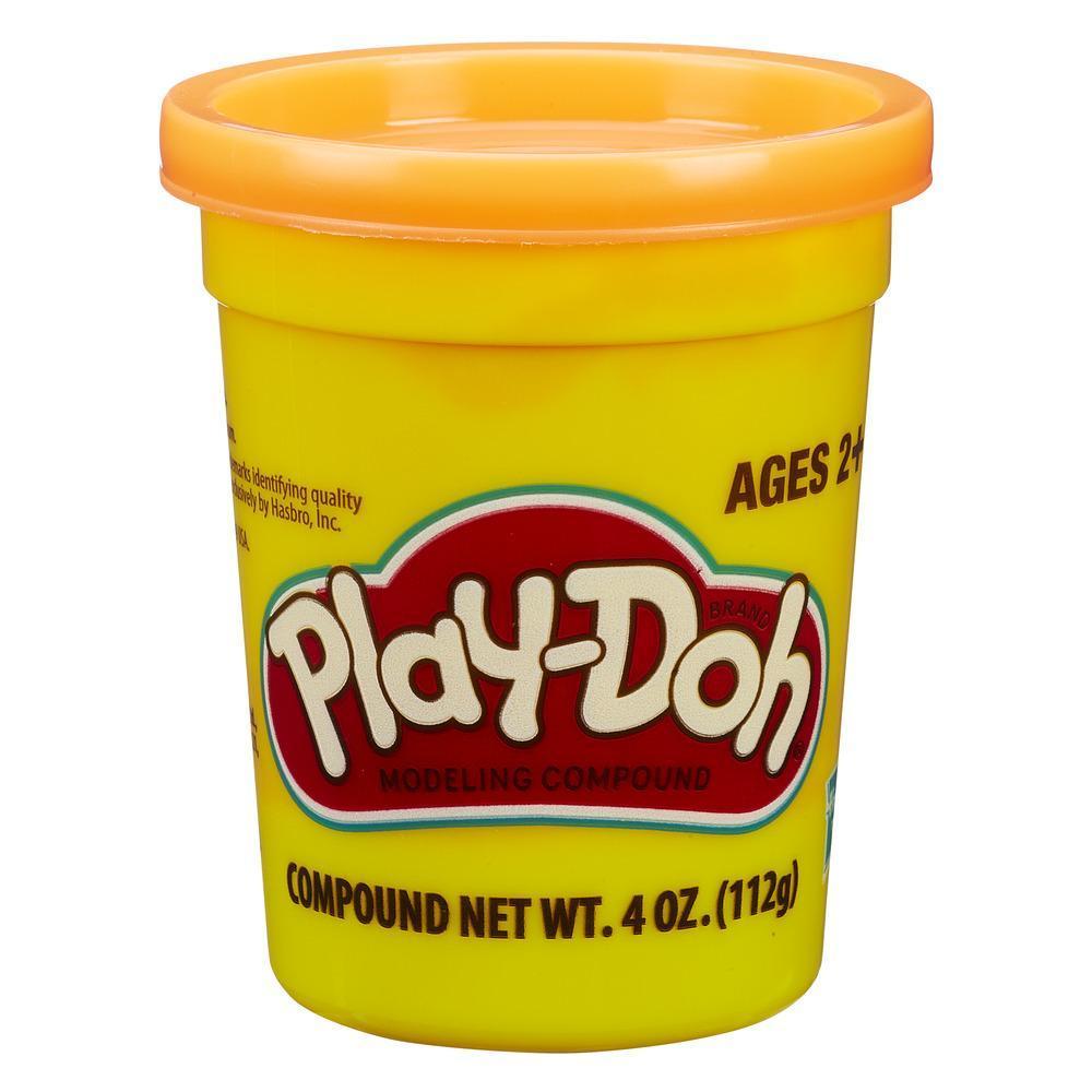 Набор Плей-До 1 банка с массой для лепки оранжевый PLAY-DOH B7413