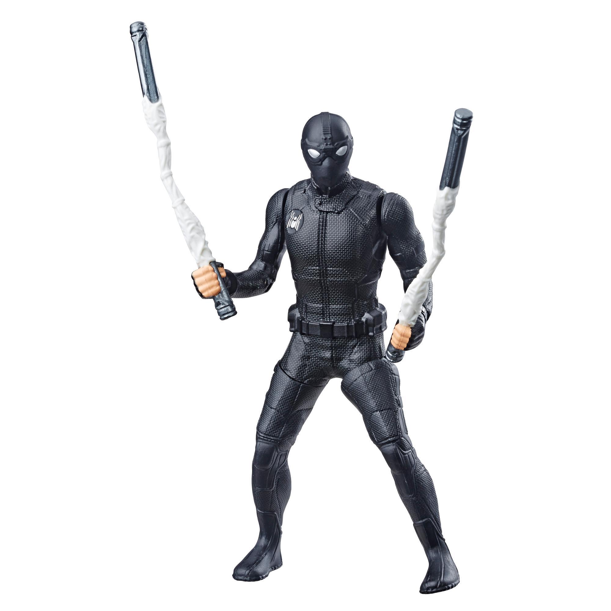 Фигурка Человек-паук 15 см делюкс Человек паук Веб-страйк SPIDER-MAN E4117