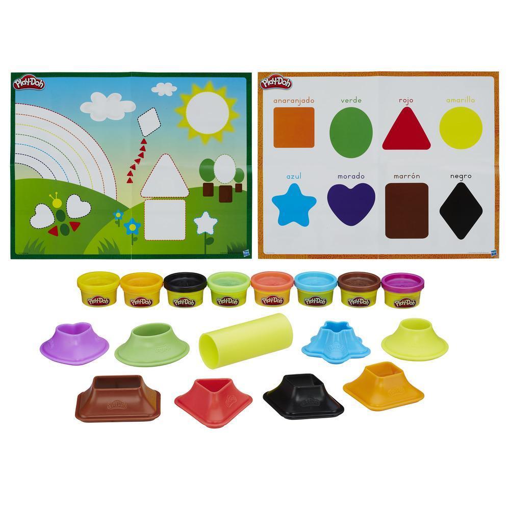 Набор игровой Плей-До Цвета и фигуры PLAY-DOH B3404