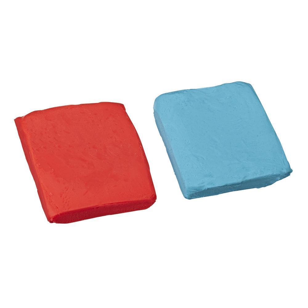 Набор Плей-До Масса для лепки в мягкой упаковке Синий и красный PLAY-DOH E2239
