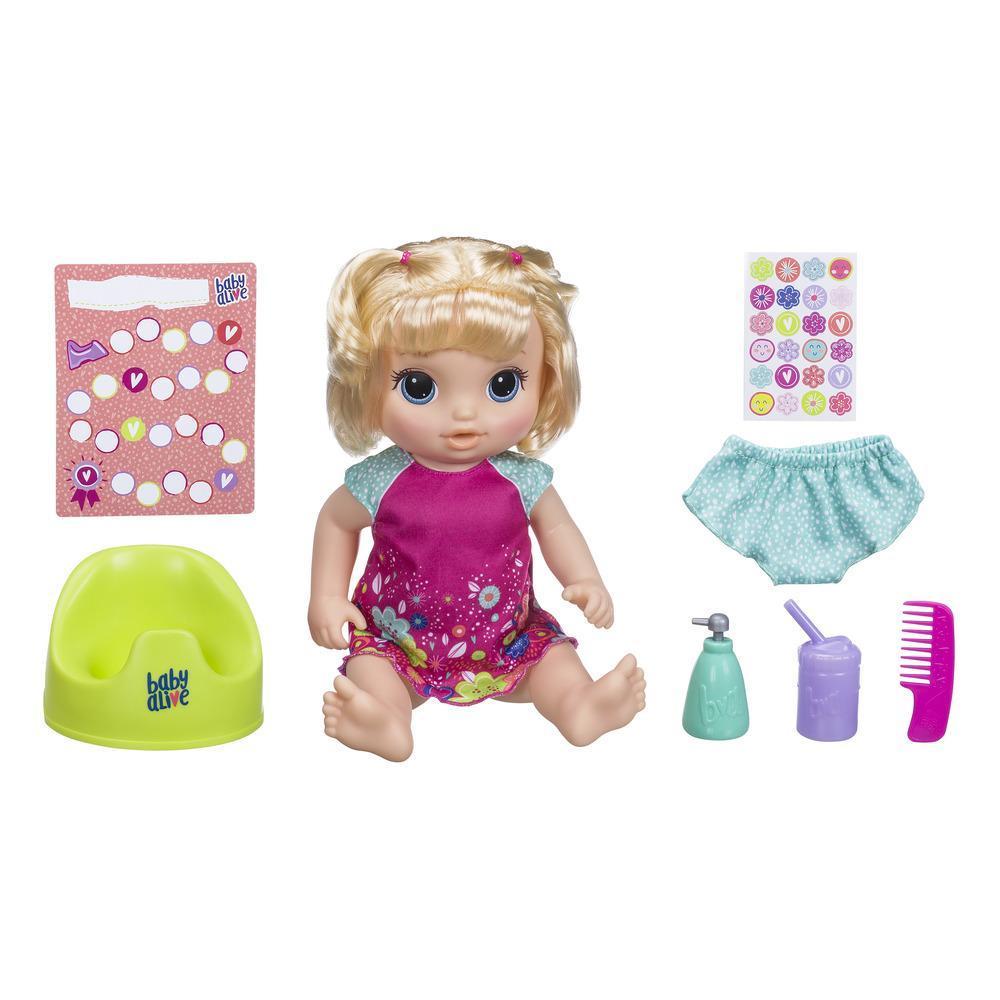 Кукла Танцующая малышка Блондинка BABY ALIVE E0609
