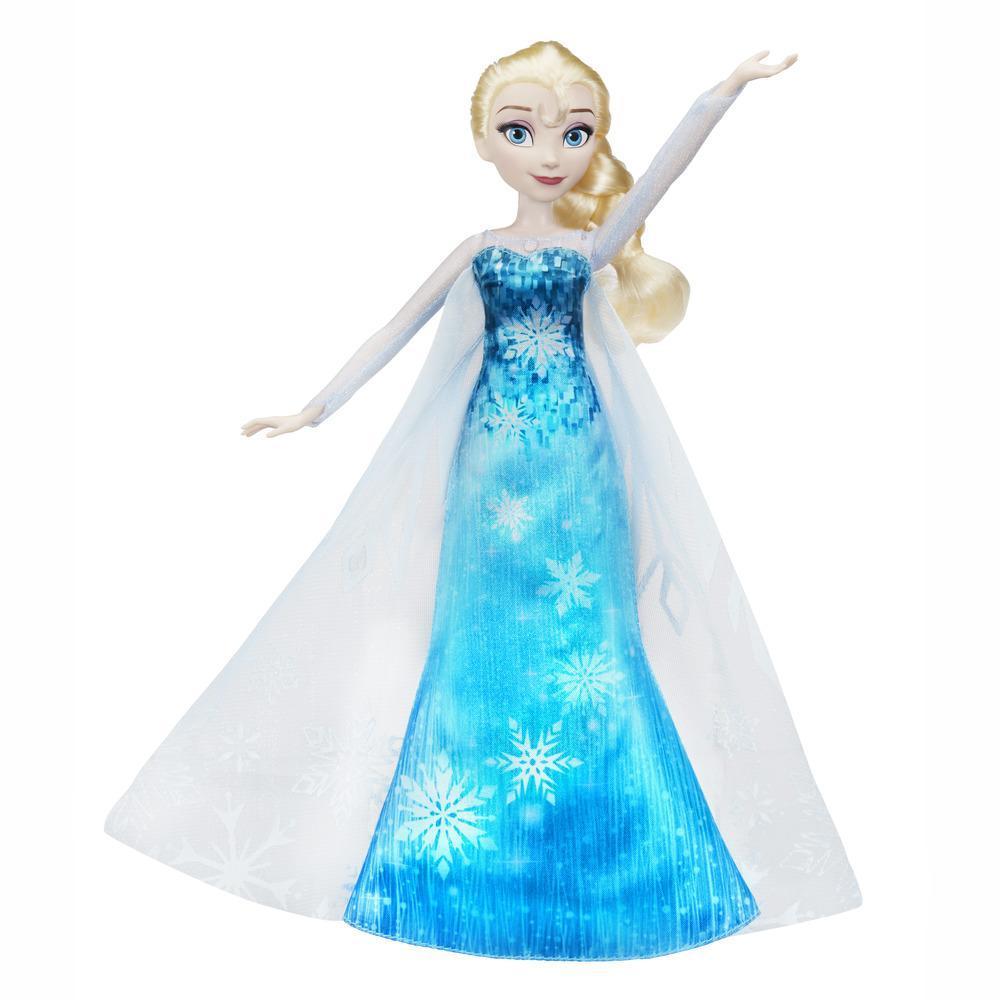 Эльза в музыкальном платье