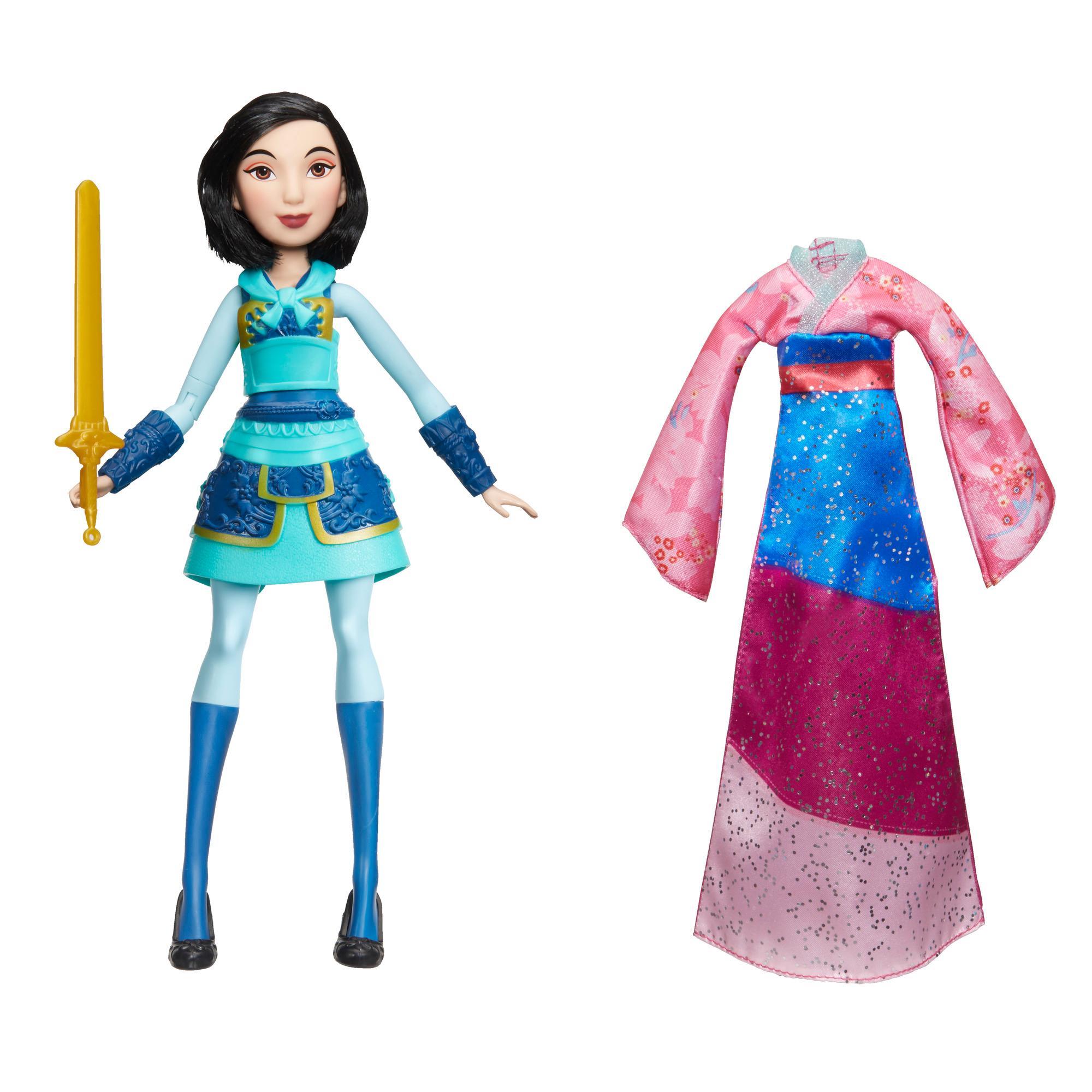 Кукла Принцессы Дисней Делюкс Мулан DISNEY PRINCESS E2065