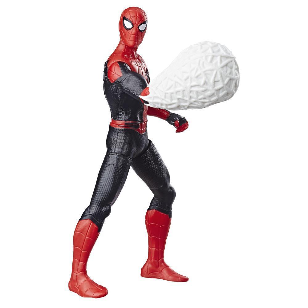Фигурка Человек-паук 15 см делюкс Человек паук Веб-панч SPIDER-MAN E4118
