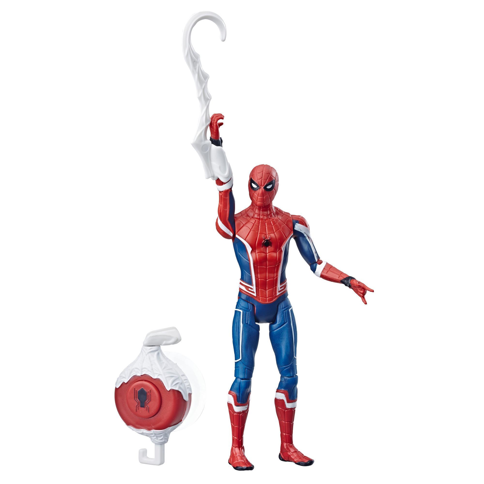 Фигурка Человек-паук 15 см делюкс Человек паук Алтимейт Краулер SPIDER-MAN E4116