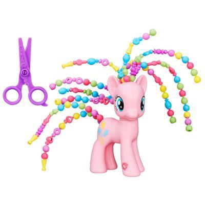 Мой маленький пони: Дружба - это чудо! Фигурка красавицы Пинки Пай с причёской из бусин