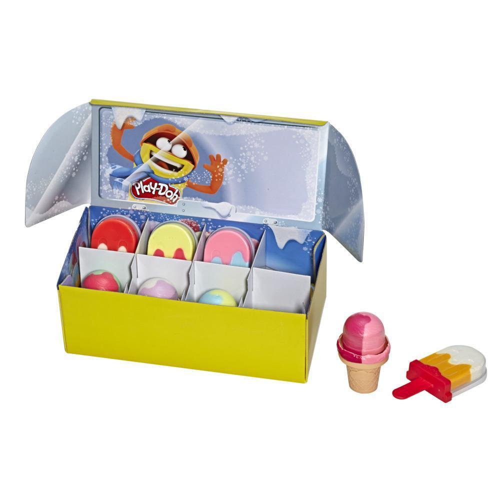 Набор игровой Плей-До Масса для лепки Мороженое PLAY-DOH E6035