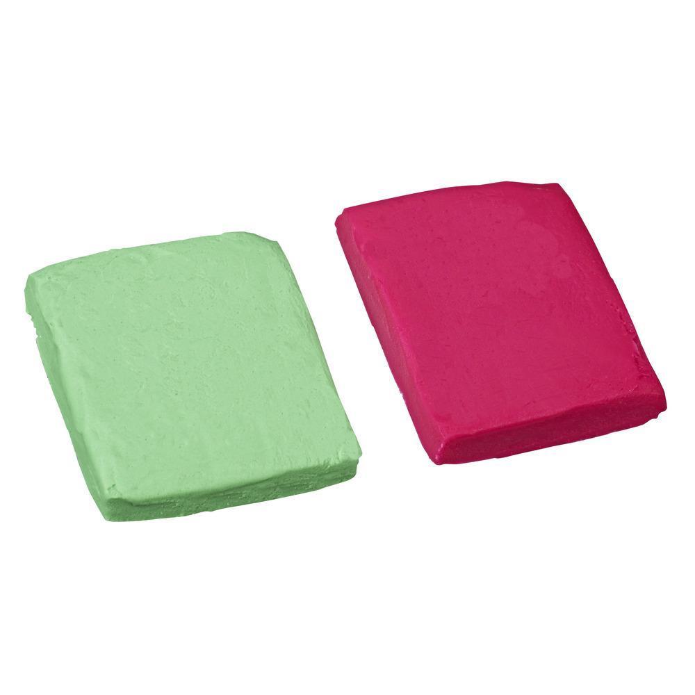 Набор Плей-До Масса для лепки в мягкой упаковке Розовый и зеленый PLAY-DOH E2242