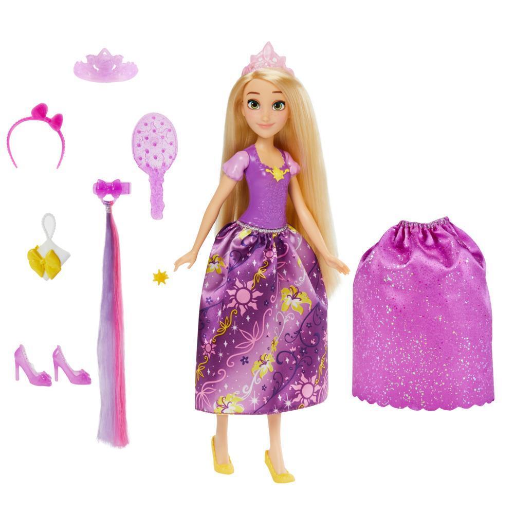 Кукла Принцессы Дисней Стильный сюрприз Рапунцель DISNEY PRINCESS F0781