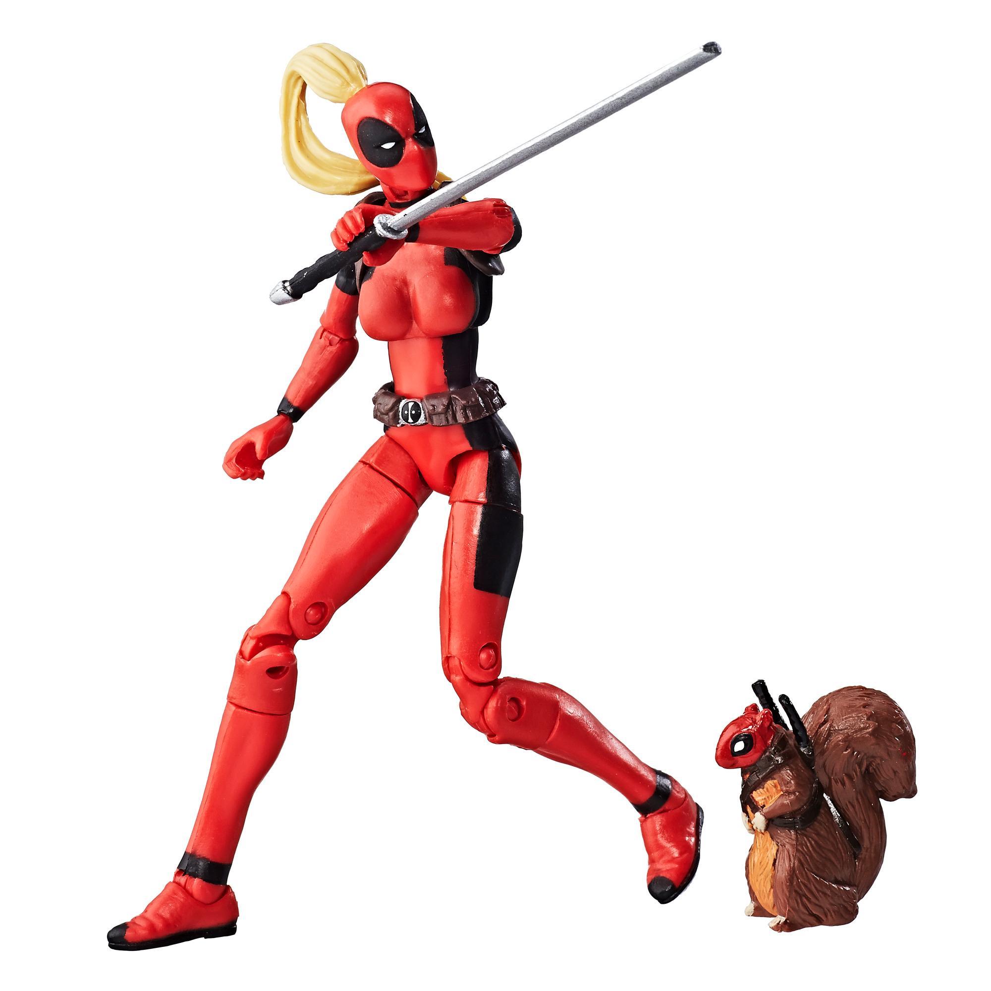 Коллекционная фигурка Мстителей Леди Дедпул 9,5 см.
