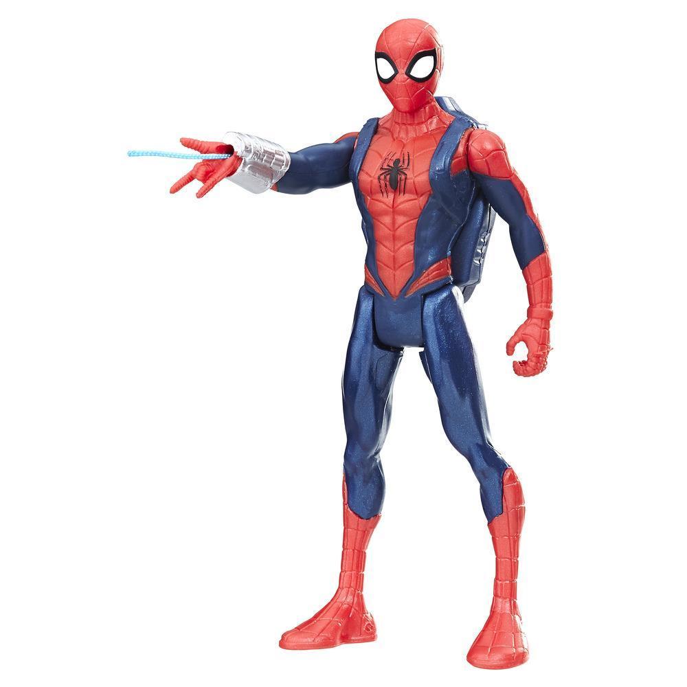Фигурки Человека-паука 15см с интерактивным аксессуаром