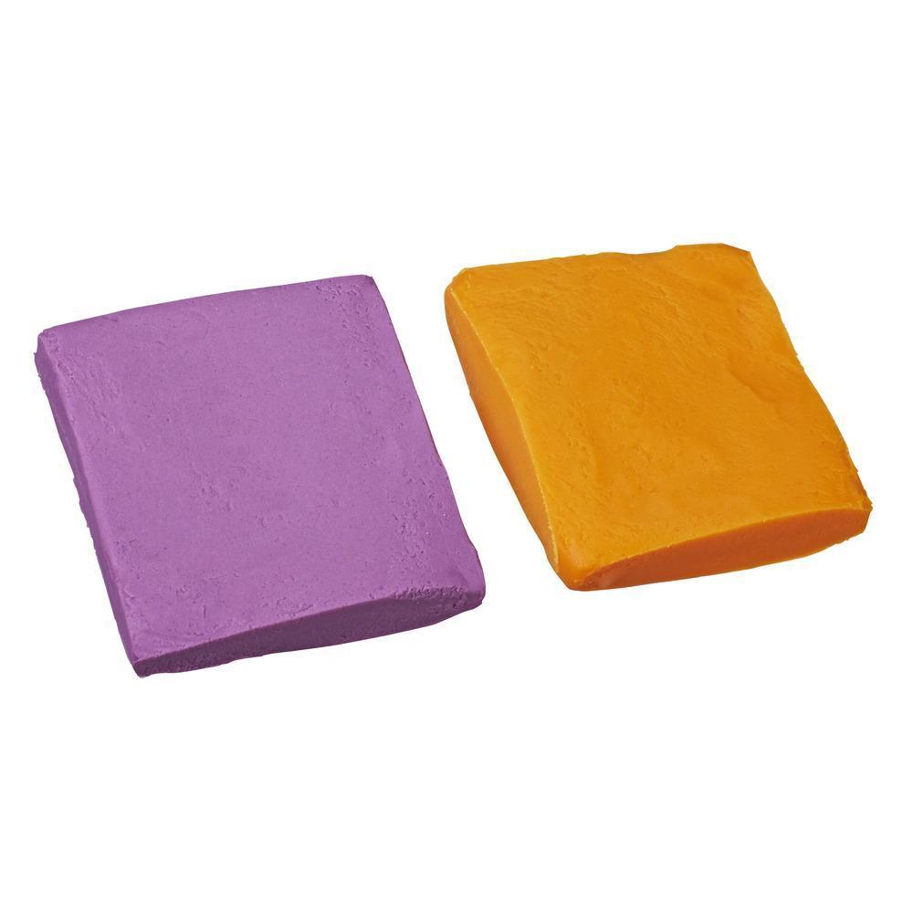 Набор Плей-До Масса для лепки в мягкой упаковке Фиолетовый и оранжевый PLAY-DOH E2240