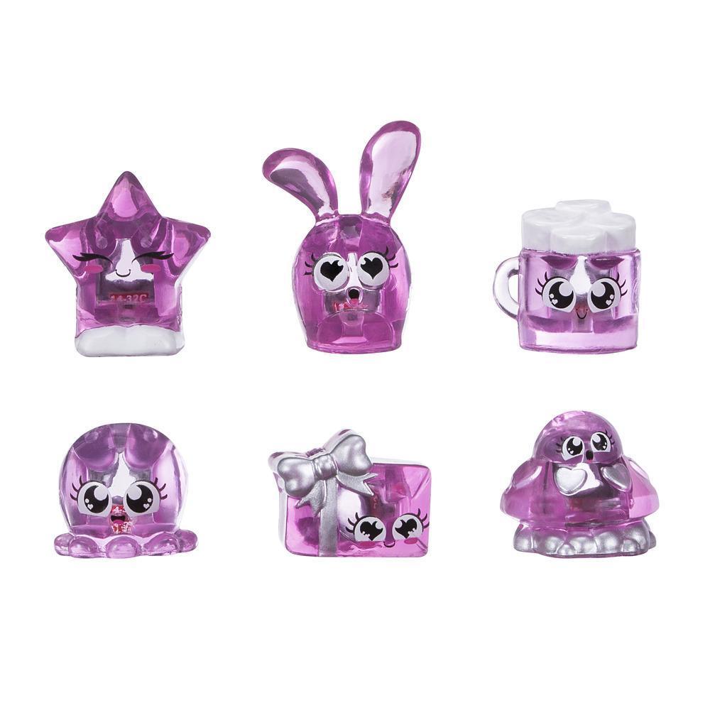 Набор 6 фигурок-сокровищ Hanazuki Розовый (B8452) Hasbro
