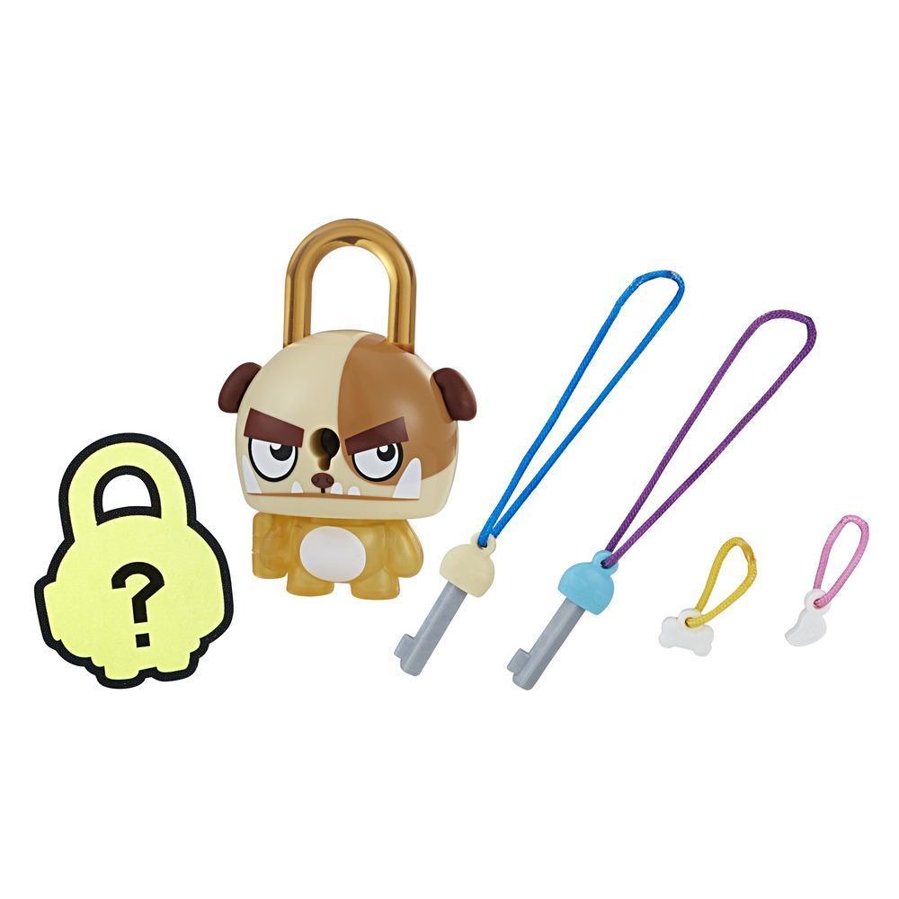 Набор замочки с секретом коричневая собака (E3212) Lock Stars, Hasbro