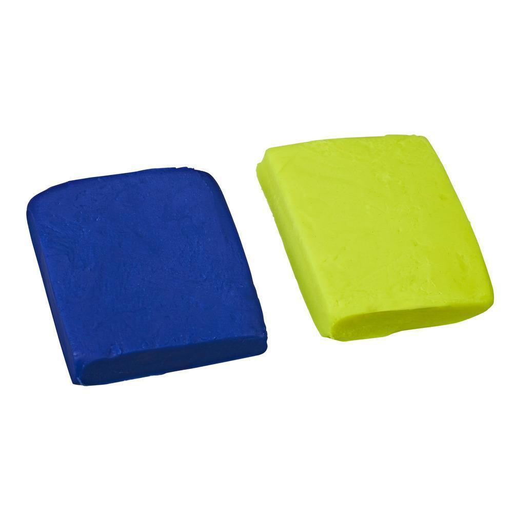 Набор Плей-До Масса для лепки в мягкой упаковке Синий и зеленый PLAY-DOH E2241