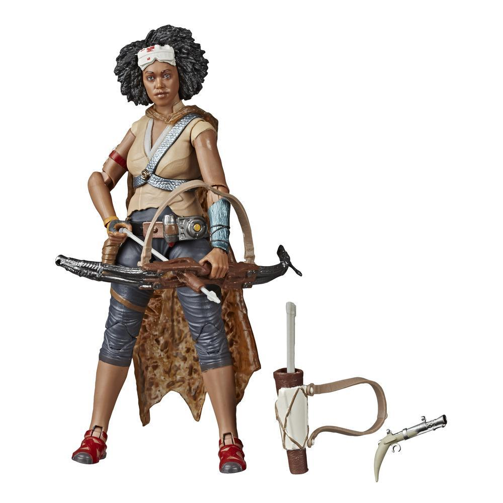 Star Wars The Black Series Jannah Toy 6-inch Scale Star Wars: The Rise of Skywalker Collectible Figure, Ages 4 and Up