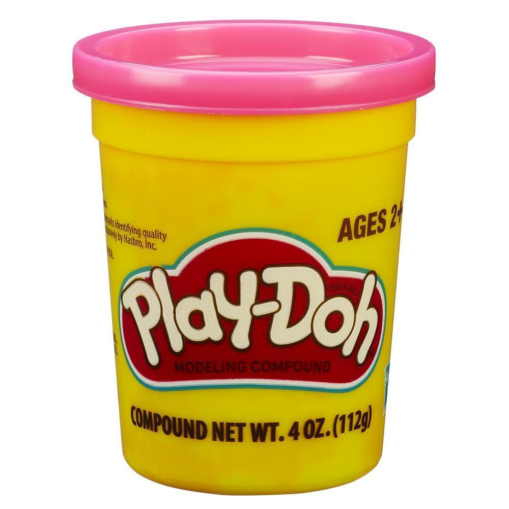 Набор Плей-До 1 банка с массой для лепки розовый PLAY-DOH B8141