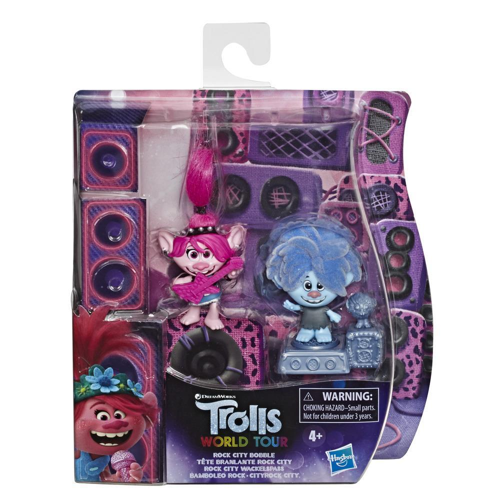 Набор игровой Тролли 2 фигурки в упаковке Город Рок TROLLS E8581