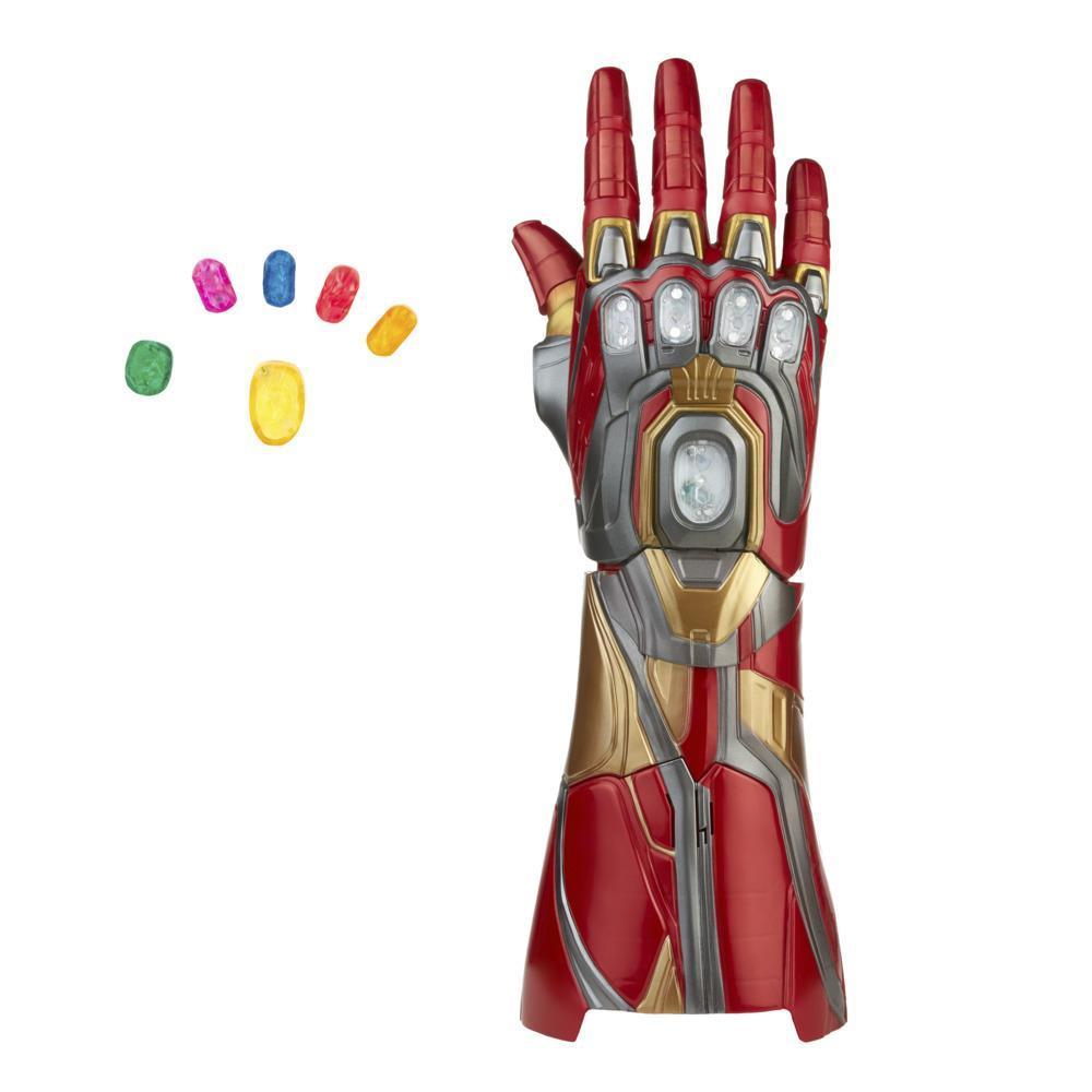 Экипировка премиальная электронная Мстители Легенд Наноперчатка Железного Человека Avengers Marvel Legends F0196