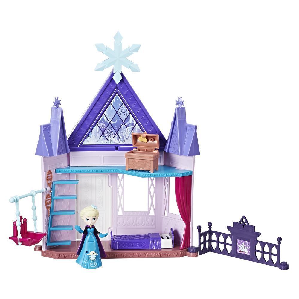 Игровой набор маленькие куклы Холодное Сердце королевская спальня Эльзы