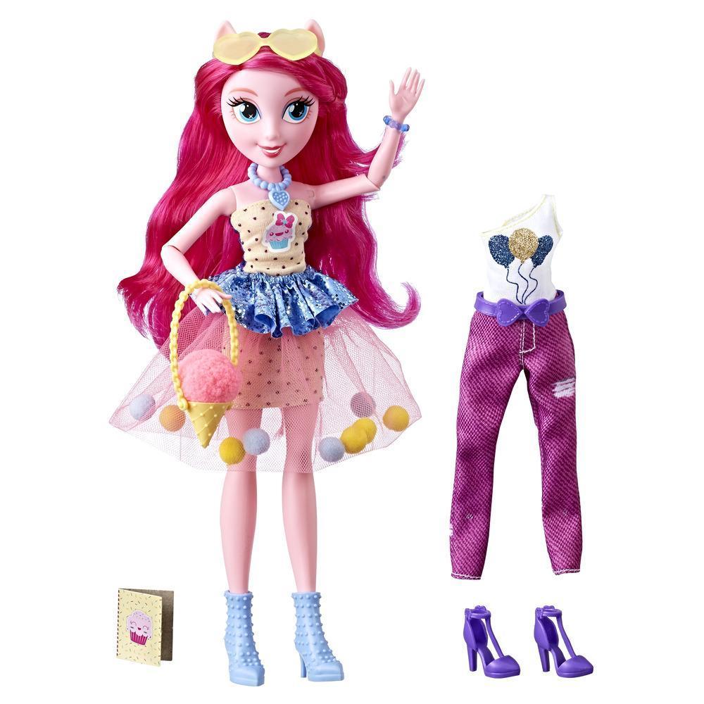 Кукла  уникальный наряд пинки (E2746) Equestria Girls, Hasbro