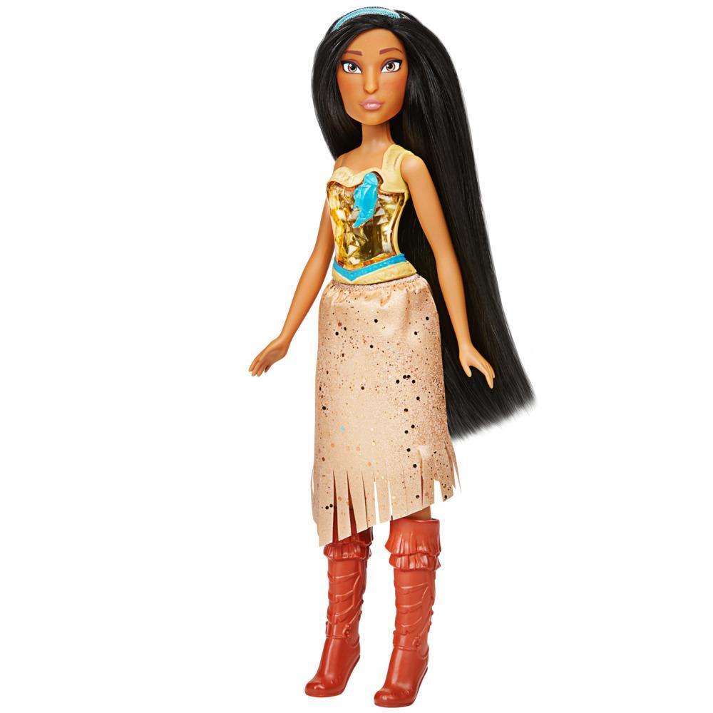 Кукла Принцессы Дисней Королевское сияние Покахонтас DISNEY PRINCESS F0904