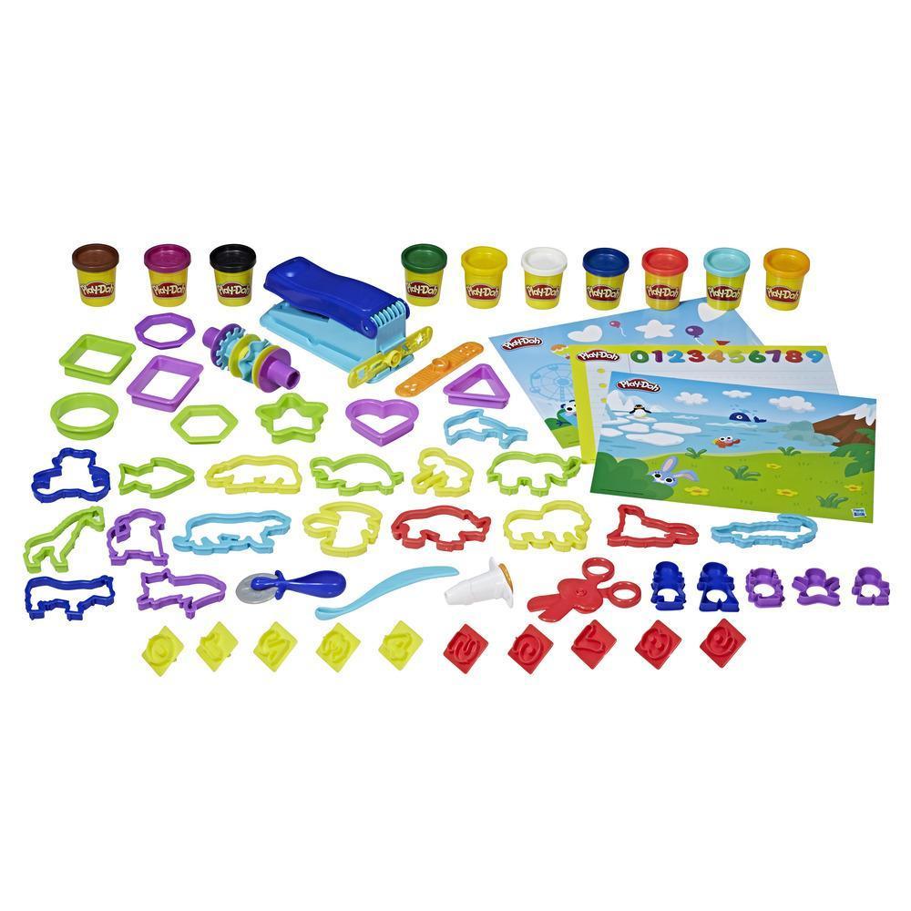 Набор игровой Плей-До Масса для лепки Дошкольный набор PLAY-DOH E2544