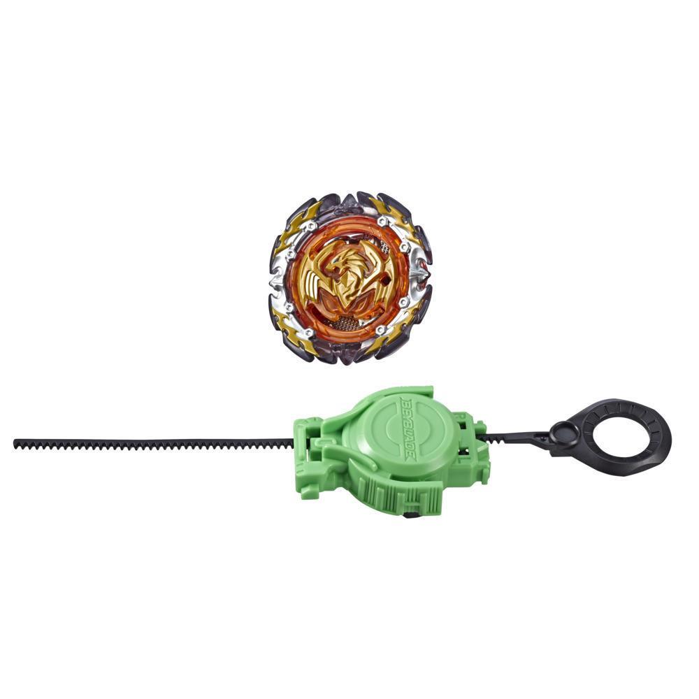 Игрушка волчок БейБлэйд СлингШок с пусковым устройством Великолепный Феникс P4 BEY BLADE E4742