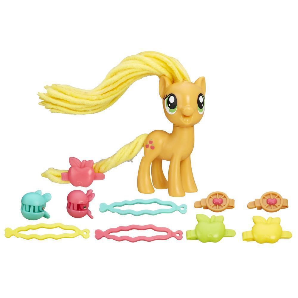 MLP Пони с праздничными прическами Эппледжек