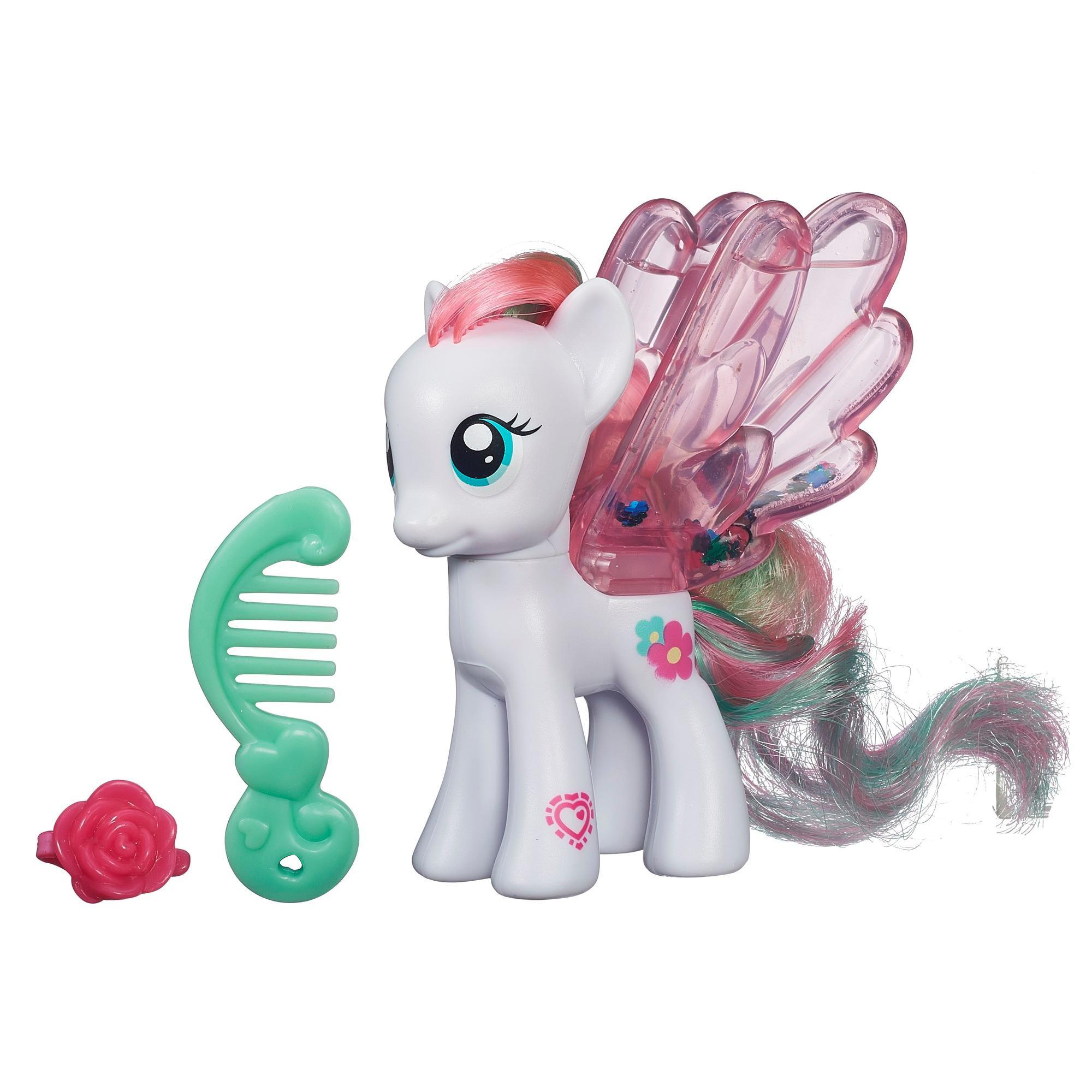Мой маленький пони: Магия знаков отличия. Водяные пони с блёстками. Фигурка Блоссомфорт