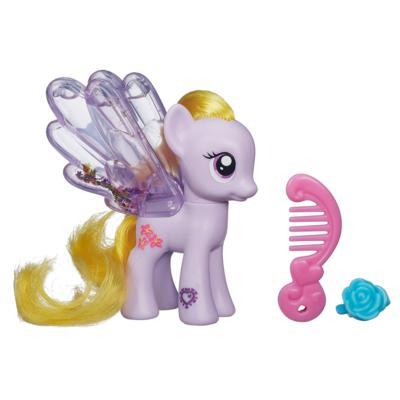 Мой маленький пони: Магия знаков отличия. Водяные пони с блёстками. Фигурка Лили Блоссом