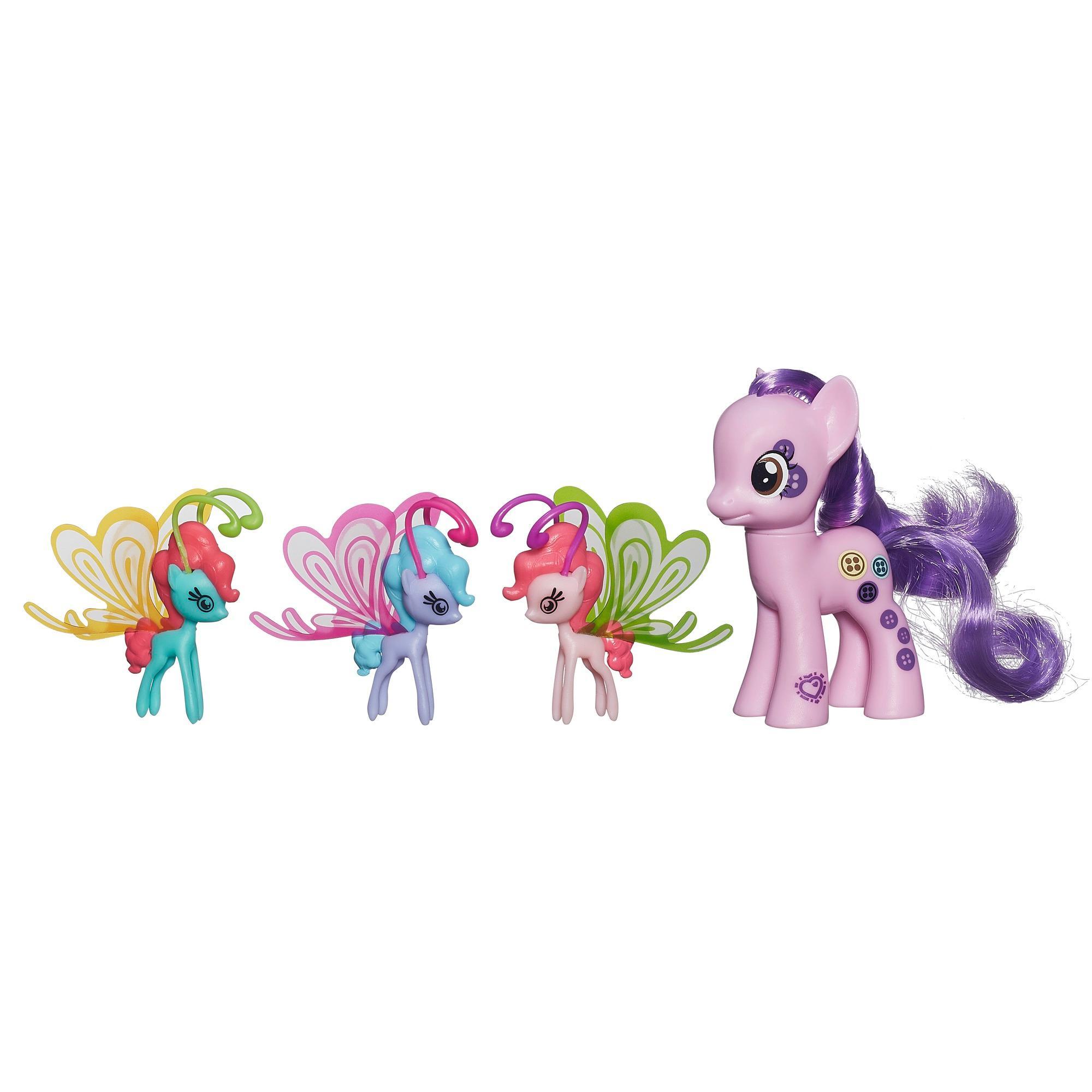 Мой маленький пони: Магия знаков отличия. Фигурки Баттонбелль и фей дружбы.