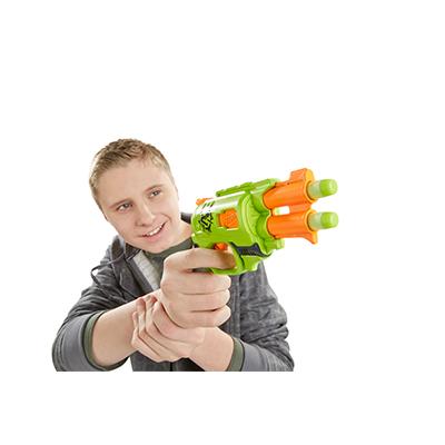 NERF Бластер Зомби Двойная Атака