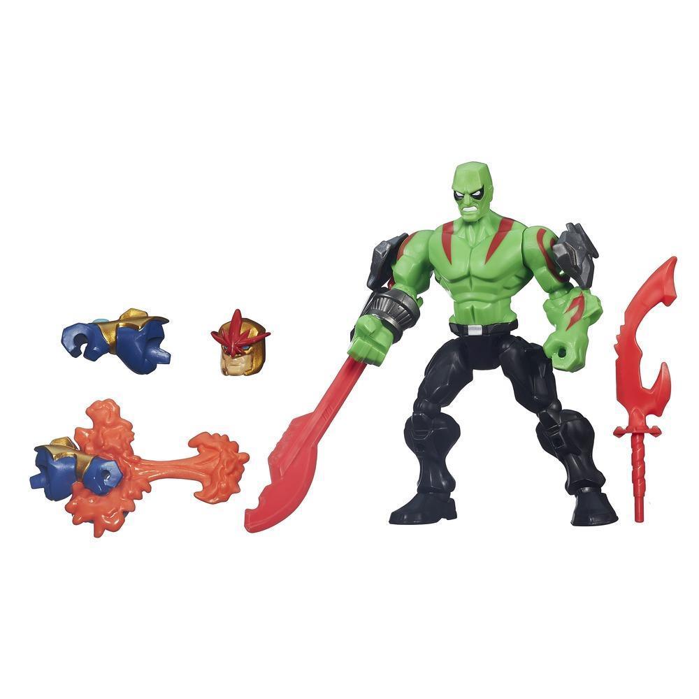 Разборная фигурка Дракса серии Гибридные Супергерои Марвел