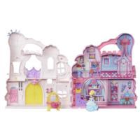 Замок для маленьких кукол Принцесс: удобно храни и бери с собой