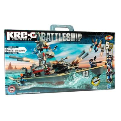 KRE-O BATTLESHIP U.S.S. MISSOURI Construction Set