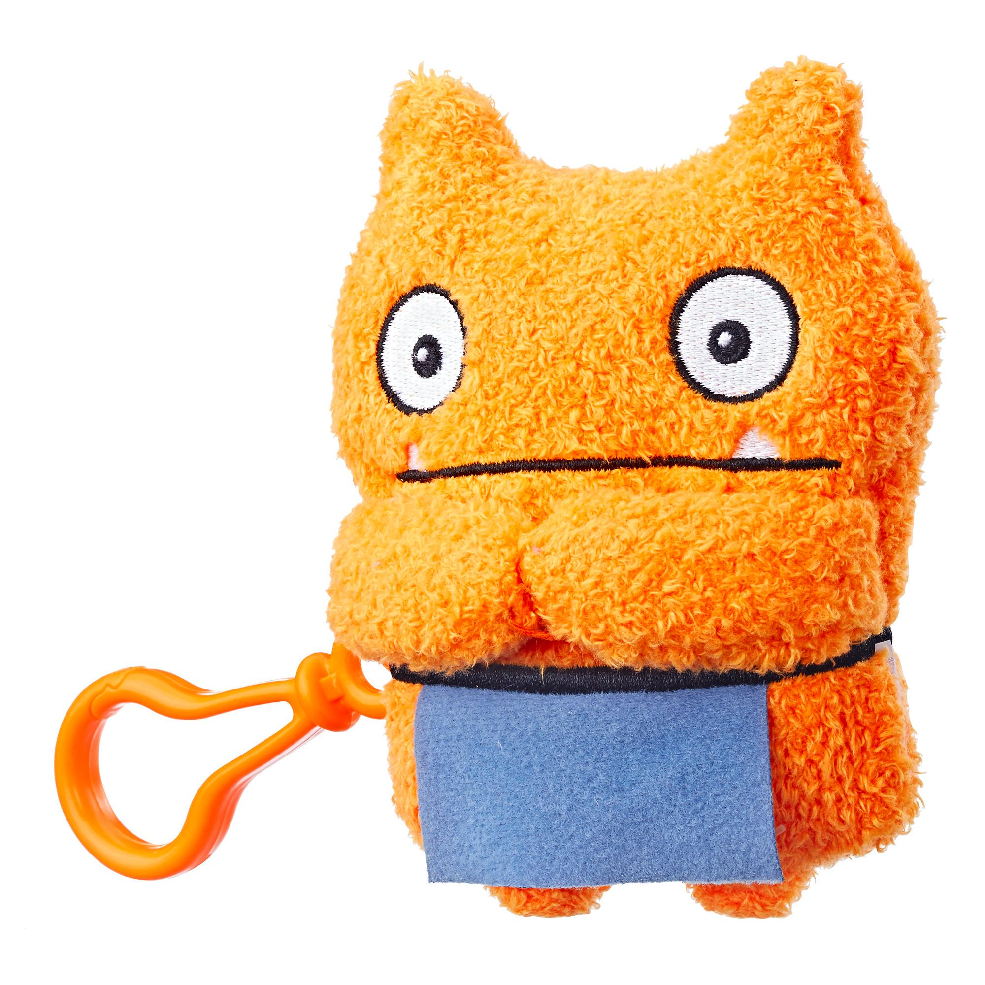 UglyDolls Wage To-Go Stuffed Plush Toy, 13,5 cm tall