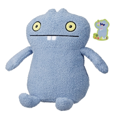 UglyDolls Hungrily Yours Babo Stuffed Plush Toy, 26 cm. tall