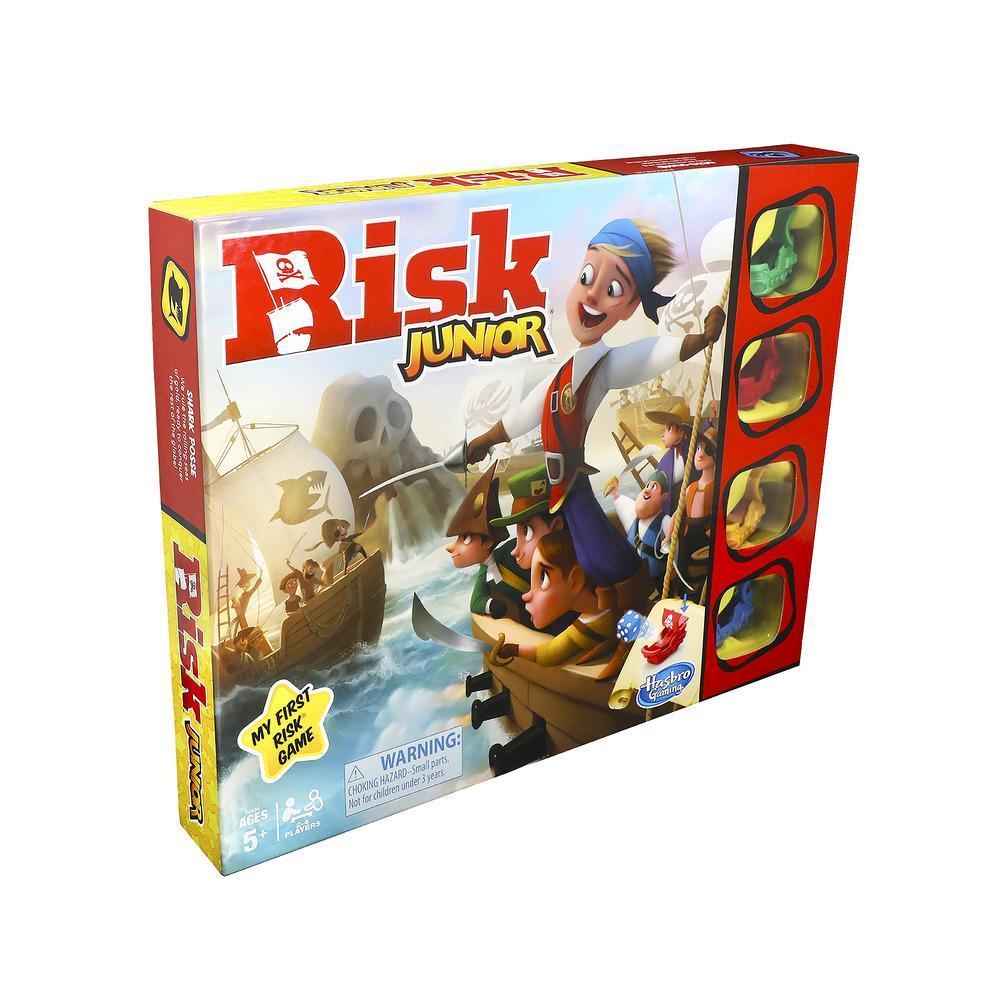 Risk Junior; en introduktion till det klassiska brädspelet för barn från 5 år