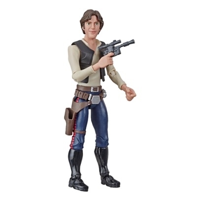 Star Wars Galaxy of Adventures Han Solo Toy Action Figure
