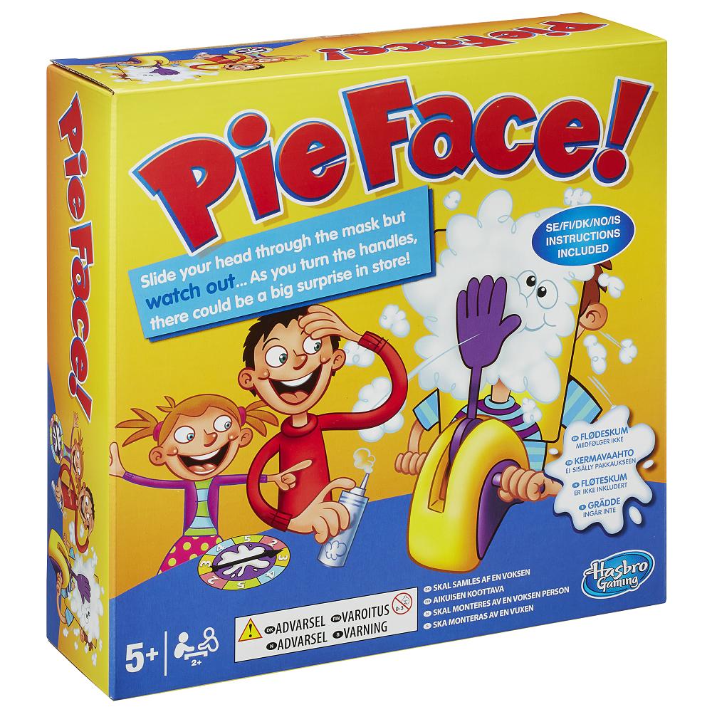 Pie Face Spelet