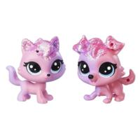 Littlest Pet Shop Collie Dazzlepink & Viola Twinkledust
