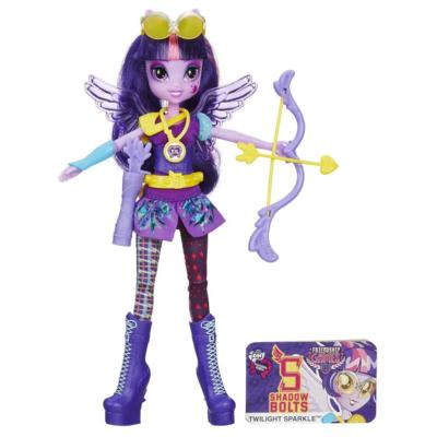 My Little Pony Equestria Girls Twilight Sparkle Sportig stil Bågskytte Doll