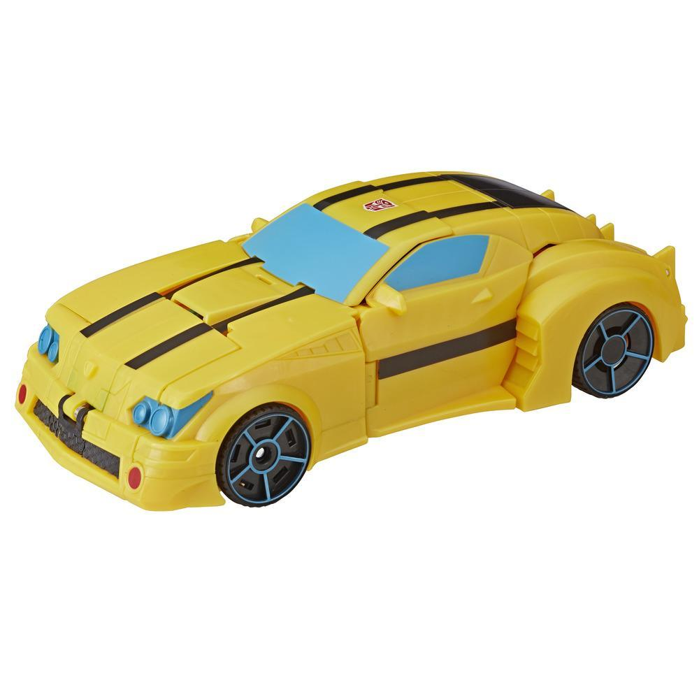 Transformers Cyberverse Action Attackers: Ultimate Class Bumblebee Action Figure Toy