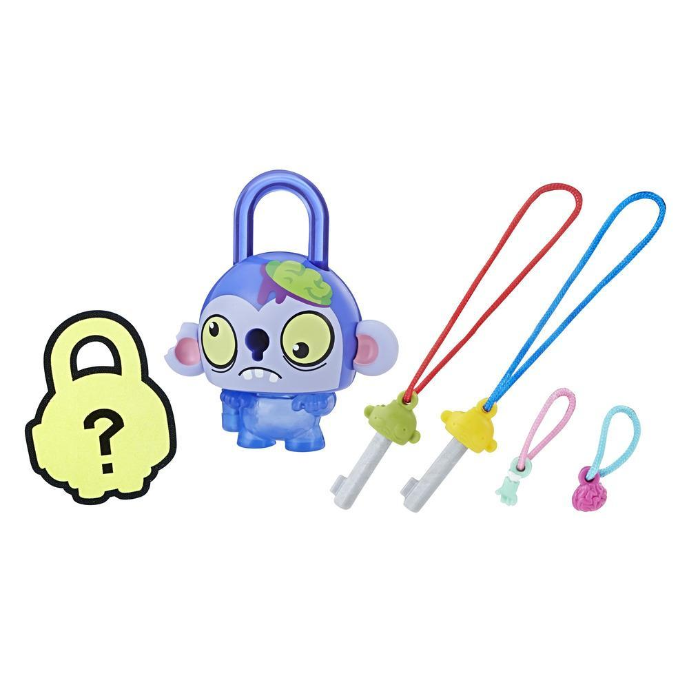 Lock Stars Basic Assortment Brain Monster–Series 1 (Product may vary)